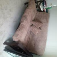 Futon, Wood, good solid piece