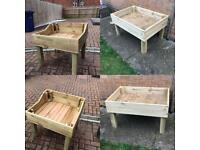Fairy garden tables/sandpits