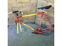 Vintage fondriest racing bike frame