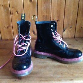Girls Dr Martin boots