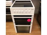 *** Beko 50cm ceramic double oven cooker***Free Delivery**Fitting**Removal