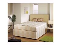 🔶🔷Brand New🔶🔷 Double / Small Double / kingsize Divan Bed w/ 13inch Luxury Memory Ortho Mattress