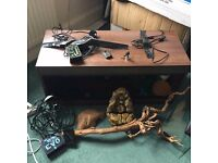 full 3ft snake vivarium setup, inc. touchscreen thermo/hygrostat, heaters and scenery