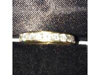 Diamond Eternity or American Style Wedding Ring