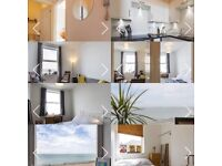 2 double bedroom flat with sea views