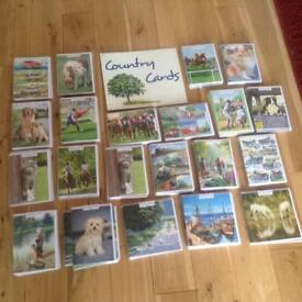 Over 400 Country Cards