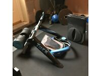 Tacx i-Genius T2021 Turbotrainer with BlackTrack, Training Tyre, Sweat Cover, Trainer 4 Software