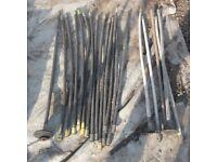 Plastic Drain Rods