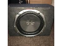 12 inch Sony subwoofer in box 1500 watta