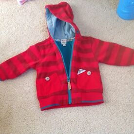 Baby Ted Baker jacket with hood