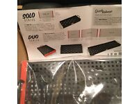 Temple Audio Design Solo 18 pedalboard_ With Quick Release system_ New & Unused