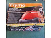 Flymo Lawnrake Compact 340- Brand New in box