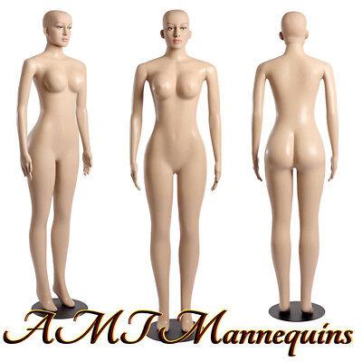 Female Manikinhead Rotate Dressform Brazilian Sexy Maniquin-b-27a2wig-pick Up