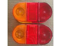 2 unused Rubbolite model 88 trailer rear light lenses. £8 ovno each/£14 ovno both. Can post.