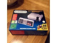 Nintendo Classic Mini NES Console with 30 Built In Video Games - BRAND NEW - Sold out everywhere!