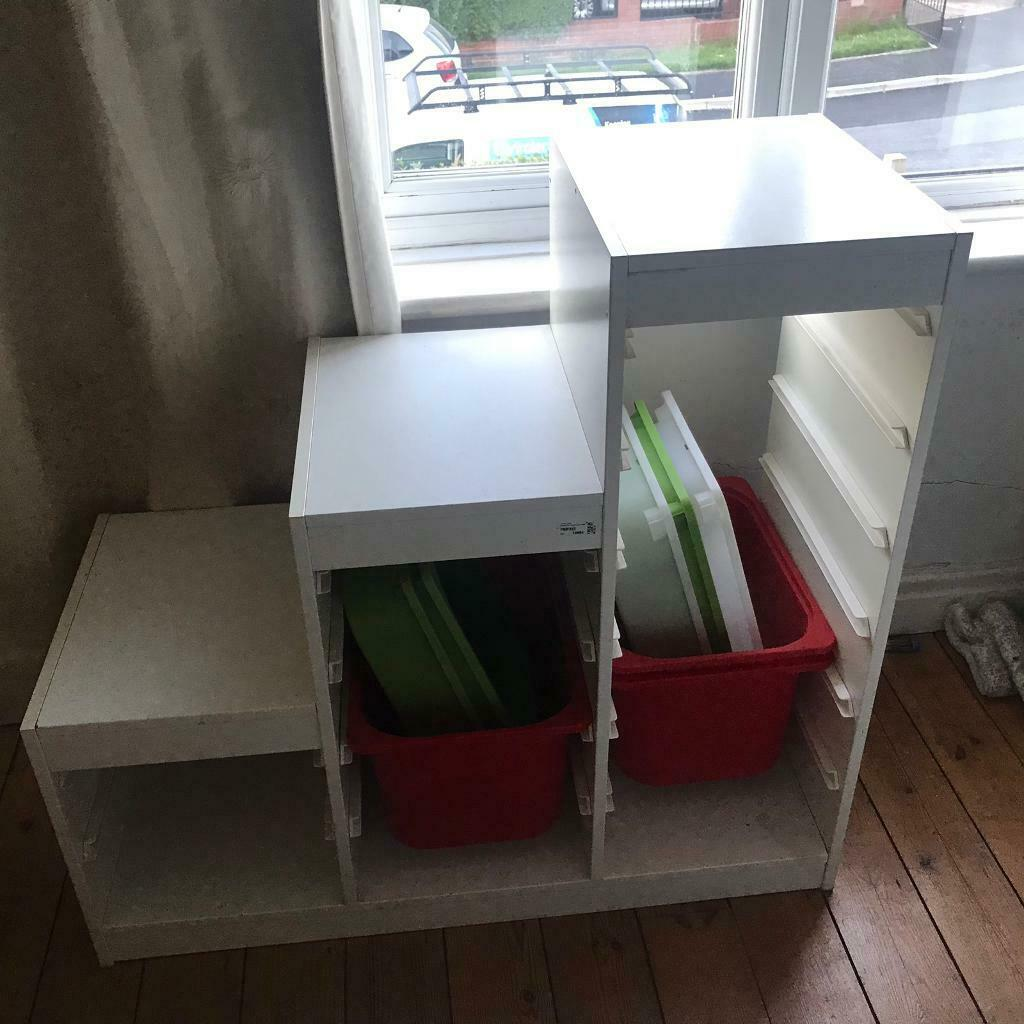 Ikea storage unit with trays | in Moortown, West Yorkshire | Gumtree