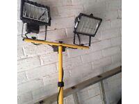 Portable builders lamp