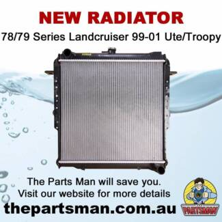 Radiator Diesel 78/79 Series Landcruiser 99-01 Ute & Troopy