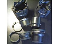 Cannon G7/G9 - Zeikos Lens Kit and tubes - (COLLECT ONLY)
