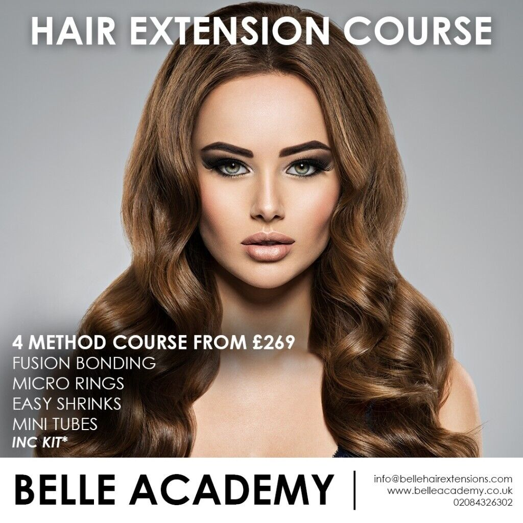 Newcastle Accredited Hair Extension Training Course Full