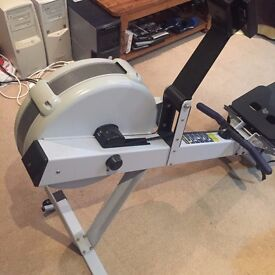 Concept 2 PM3 indoor rowing machine in excellent condition, a bargain at £500