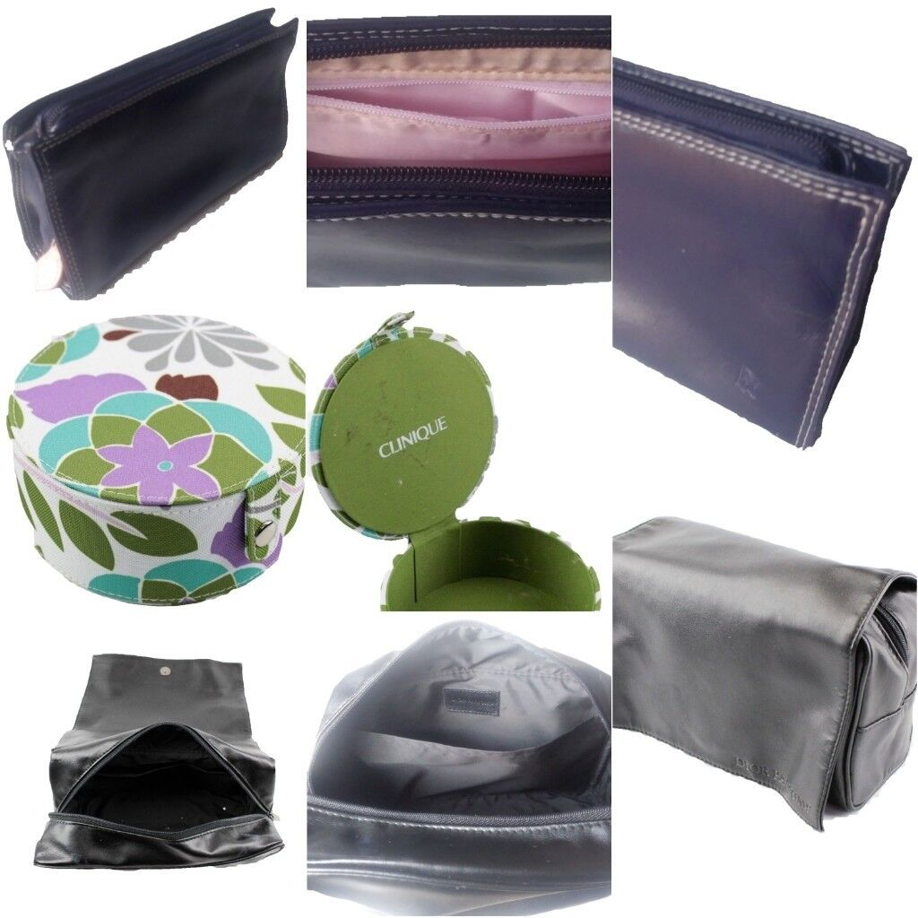 b27ca34e8 Clinique Make-Up Box Case, Rolls Royce and Dior Toiletry Bags | in ...