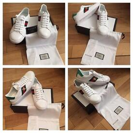 Gucci Unisex Men Women Trainers Sneakers Shoes Brand New With Box Dustbag & Receipt Size 5 to 10