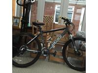 Carrera mountain bike+EXTRAS