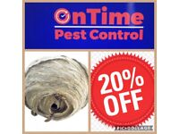Ontime pest Control rodents, birds, insects we deal with all. Phone Paul or Kelly 07725906900