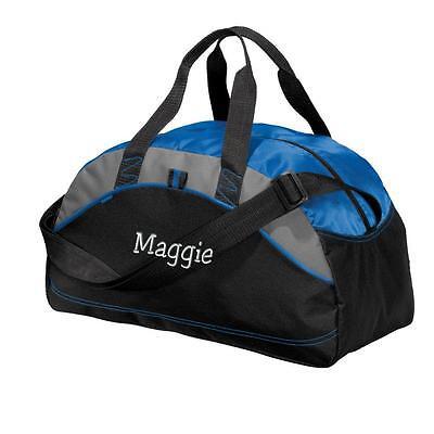 Monogrammed Duffle Bag. Personalized Gym Bag. Embroidered Duffle Bag. BG1070 (Embroidered Duffle Bags)
