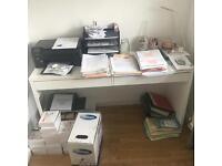 Ikea Office Desk & Chair