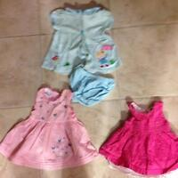 Lot of 3-6 months dresses