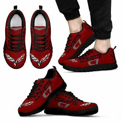 Corvette C7 Racing -Top Men's Shoes-Free shipping-Best gift for