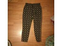 Pattern trousers - Size 12