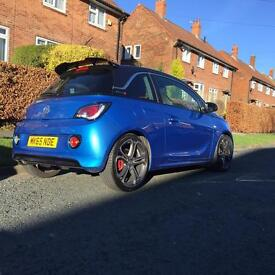 Vauxhall Adam S 150BHP Recaro sports seats full leather