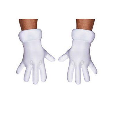Erwachsene Nintendo Super Mario Bros.Handschuhe Kostüm Zubehör ()