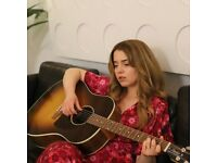 Vocal coaching, tailored singing, piano and guitar lessons