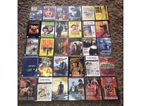 DVD Job Lot x 30 movies, various action & comedy films Mad Max,Labyrinth,Drop Dead Fred etc