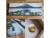 Mount Errigal Donegal Ireland - Limited Edition Canvas Photo Print Wallart - Perfect Christmas Gift