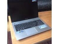 Asus N56VM-S4261V laptop with Windows 7