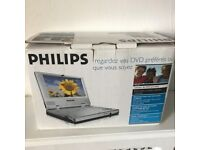 "Philips PET 700 Portable DVD Player with 7"" Display"
