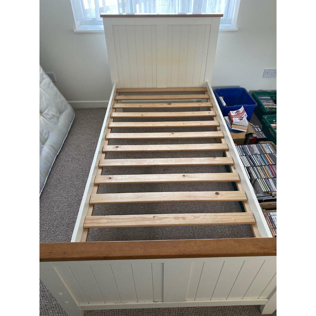 Single wooden bed - no mattress | in Rochford, Essex | Gumtree