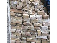 Bricks, roof tiles & wood