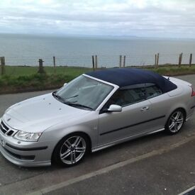 Saab 9-3 Aero 2.8 V6, Convertible, Hirsch Performance Pack, FSH, 61k