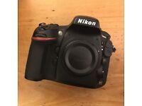 Nikon D800 camera body. Boxed.