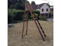 Household Wooden Step Ladder