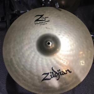 Zildjian cymbale Z custom crash 17 - used/usage