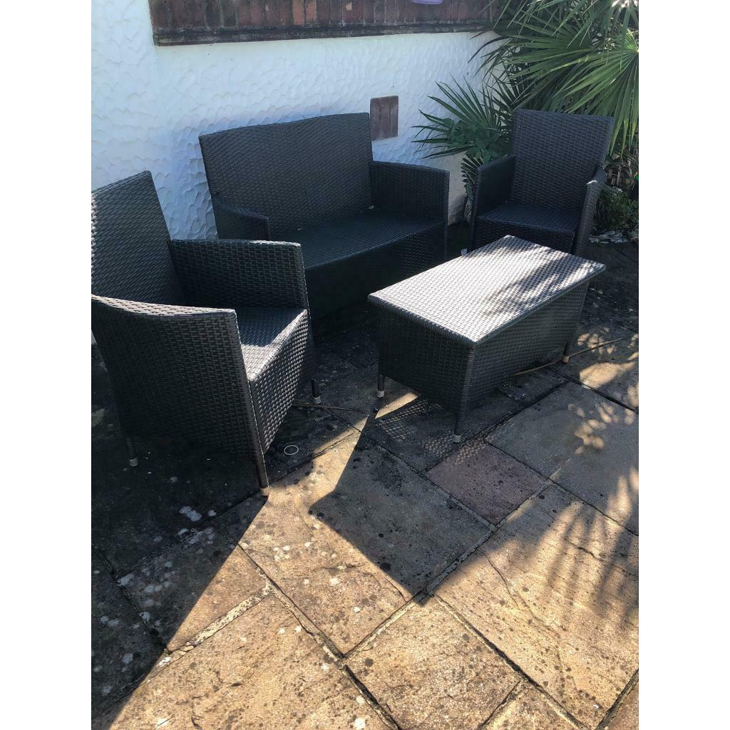 Peachy Outdoor Garden Furniture Set In Torquay Devon Gumtree Home Interior And Landscaping Mentranervesignezvosmurscom