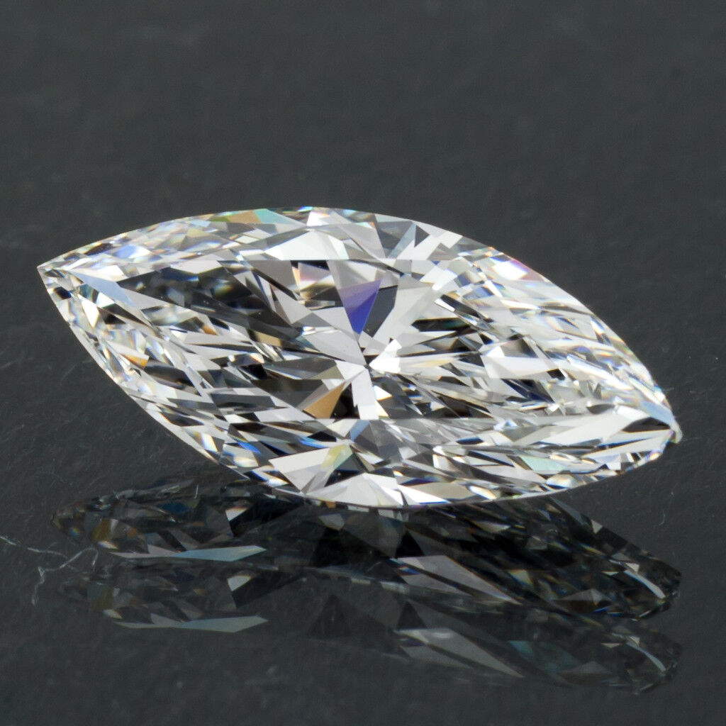 1.53 Carat Loose F / VVS2 Marquise Cut Diamond GIA Certified