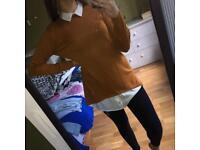Mock shirt top